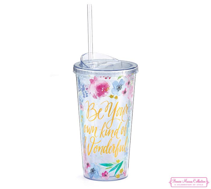 BE YOUR OWN KIND OF WONDERFUL TRAVEL CUP