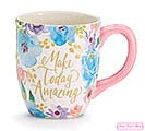 FLORAL INSPIRATIONS CERAMIC MUG W/ BOX