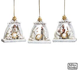 BLESSED BEGINNINGS NATIVITY ORNAMENT SET