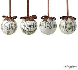 ASTD MESSAGE ORN HOPE/REJOICE/JOY/FAITH