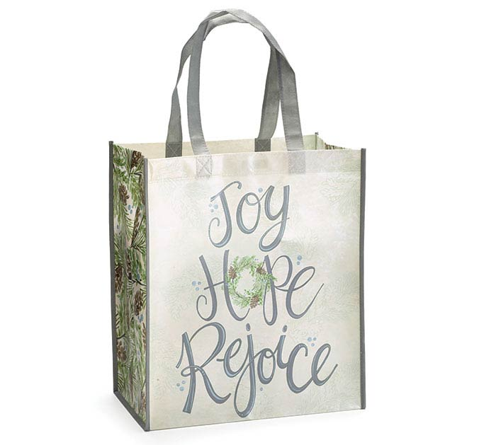 boughs blessings christmas tote