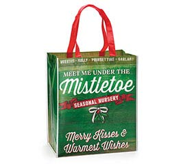 MEET ME UNDER THE MISTLETOE TOTE