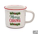 MERRY CHRISTMAS/GARLAND MUG