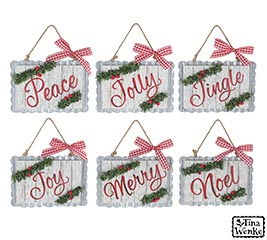 ORNAMENT ASTD CHRISTMAS MESSAGES