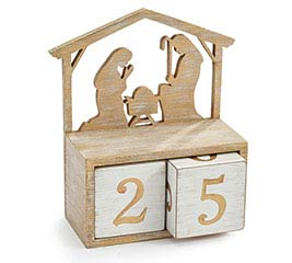 NATIVITY BLOCK CALENDAR