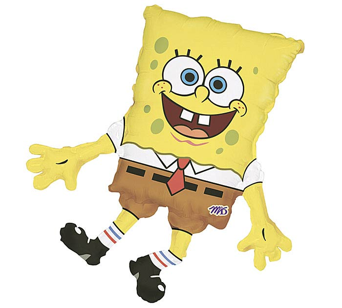 "13""INFLATED SPONGBOB"