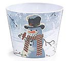 SNOWY WINTER SCENE MELAMINE POT COVER