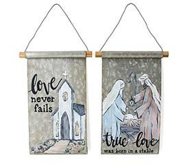 SCROLL WALL HANGING WITH ASTD MESSAGES