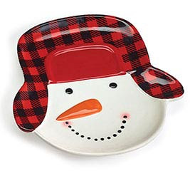 SNOWMAN WEARING HAT SHAPE