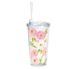 FLORAL LOVE TRAVEL CUP