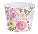 "6"" JUST LOVELY MELAMINE POT COVER"