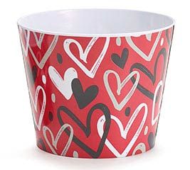 "6"" HEARTBREAKER MELAMINE POT COVER"
