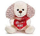 "9"" BE MINE VALENTINE PUPPY PLUSH"