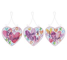 ASSORTED VALENTINE MESSAGE HEARTS