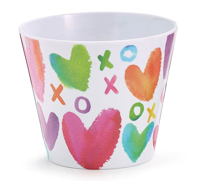 "4""VALENTINE SWEET WISHES POT COVER"