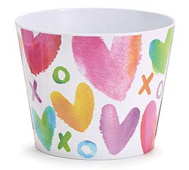 "6""VALENTINE SWEET WISHES POT COVER"