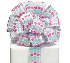RIBBON #9 PASTEL HEART RIBBON