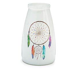 DREAM CATCHER GLASS VASE