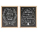 ASSORTED BEE MESSAGES WALL HANGINGS