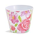 "4"" SPRING DANCE MELAMINE POT COVER"