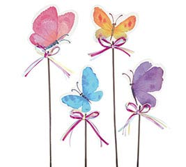 BUTTERFLY PICK ASSORTMENT WITH BOWS
