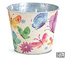 WATERCOLOR BUTTERFLY POT COVER