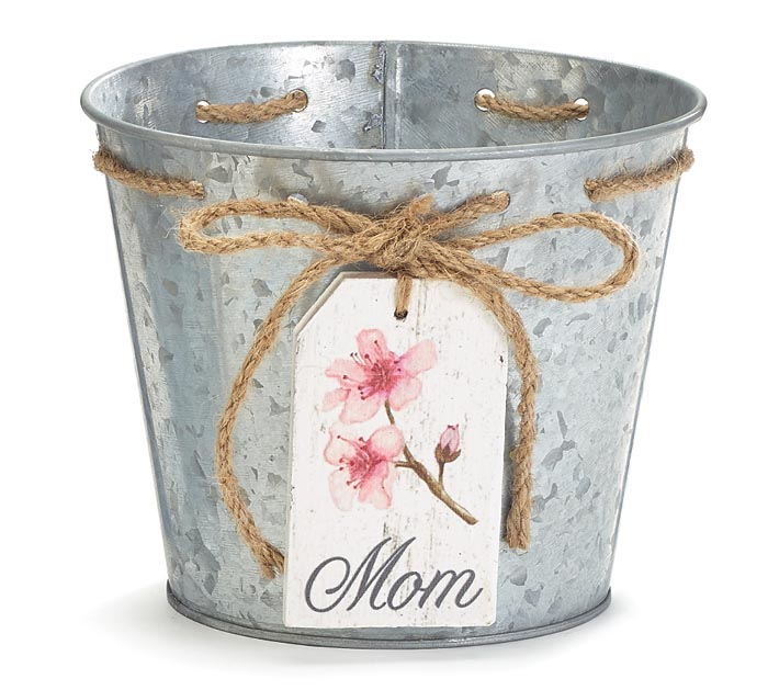 PEACH BLOSSOM MOM TAG POT COVER