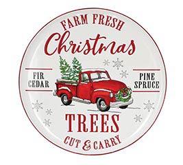 FARM FRESH CHRISTMAS TREES WALL HANGING
