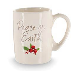 PEACE ON EARTH MESSAGE MUG
