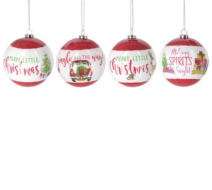 "3"" ASSORTED ORNAMENTS IN GIFT BOX SET"