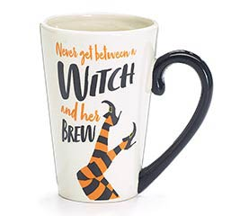WITCH AND HER BREW MESSAGE MUG