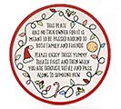 CHRISTMAS SHARING MESSAGE PLATE 1st Alternate Image