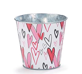 GRAFITTI HEARTS POT COVER