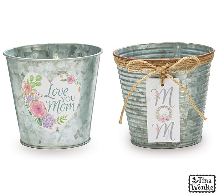 "4"" TIN MOM POT COVER ASSORTMENT"