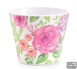 "CAMBRIDGE COTTAGE FLORAL 4"" MELAMINE"