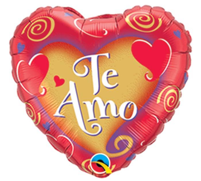 "9""FLAT SPANISH TE AMO"
