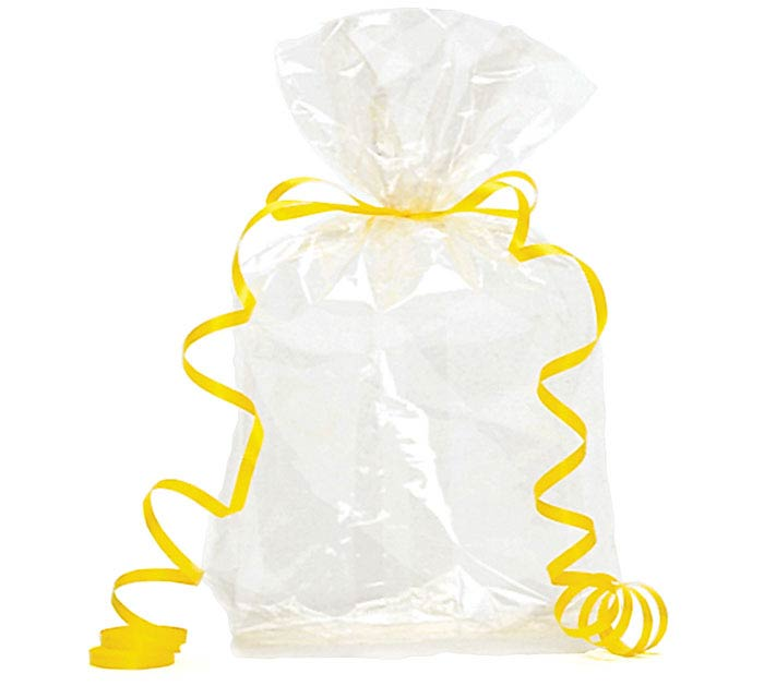 "CLEAR CELLO BAG 11""H X 5""W"
