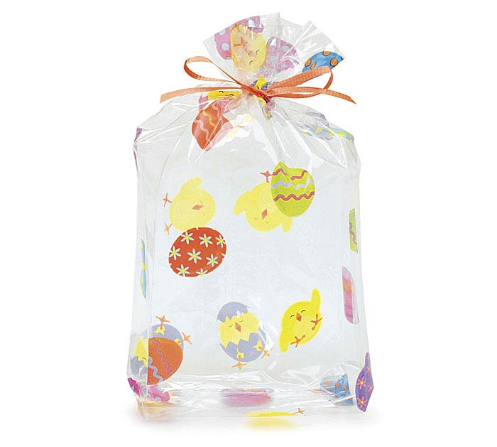 "EASTER CHICKS CELLO BAG 11""H X 5""W"
