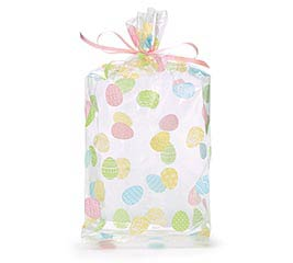 "OVER EASY EASTER CELLO BAG 11""H X 5""W"