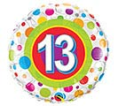 "18""PKG HBD 13"