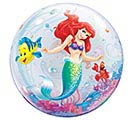"22"" PKG LITTLE MERMAID ARIEL BUBBLE BAL 1st Alternate Image"