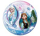 "22"" PKG FROZEN MOVIE BUBBLE BALLOON"
