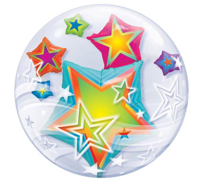 "24"" STARS DOUBLE BUB"