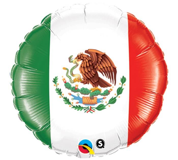 """18""""GEN MEXICO FLAG"""