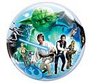 "22"" PKG STAR WARS BUBBLE BALLOON 1st Alternate Image"