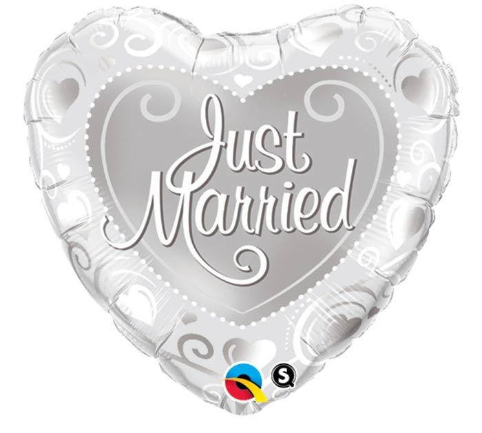"18""PKG JUST MARRIED"