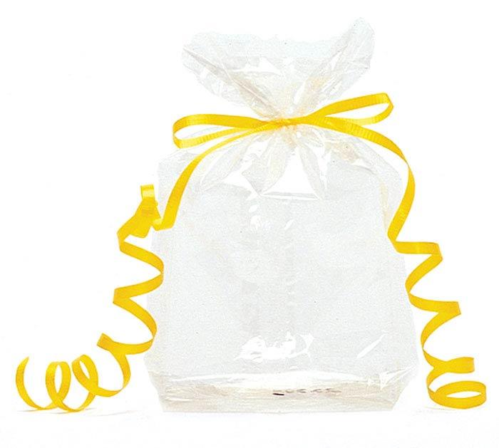 """CLEAR CELLO BAG 7""""H X 3""""W"""