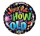 """18""""PKG OTH HOW OLD 1st Alternate Image"""