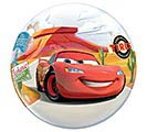 "22"" PKG CARS CHARACTERS BUBBLE BALLOON"