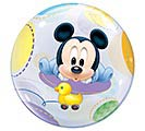 "22"" PKG BABY MICKEY MOUSE BUBBLE BALLOON 1st Alternate Image"
